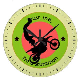 Relógio Grande Confie-me, mim são um dublê