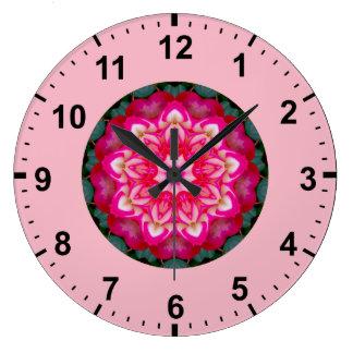 Relógio Grande ~ cor-de-rosa do Fractal da miniatura do ~