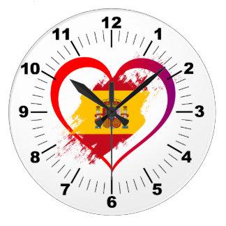 Relógio Grande Coração espanhol