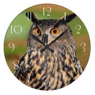 Relógio Grande Coruja de águia européia