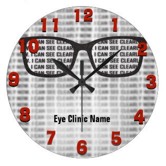 Relógio Grande Costume da clínica do Opthamology