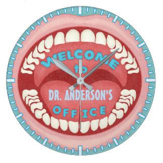 Relógio Grande Costume dental dos dentes | da boca da novidade do