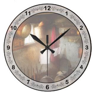 Relógio Grande Cozinha - vida de Homesteading