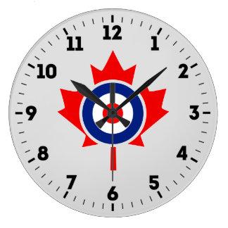 Relógio Grande Crachá canadense da modificação de Roundel da