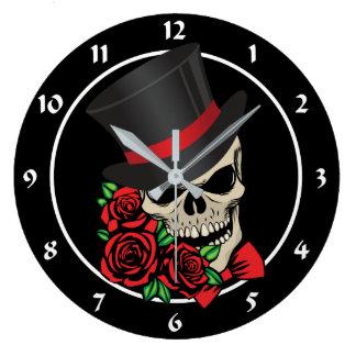 Relógio Grande Crânio do cavalheiro
