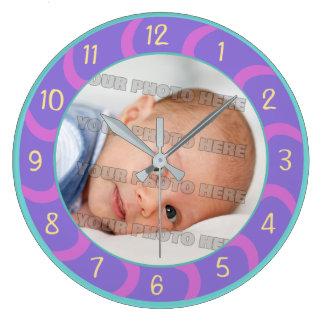 Relógio Grande Crianças e costume do bebê