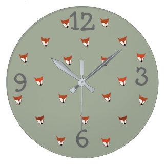 Relógio Grande Criatura da floresta do Fox