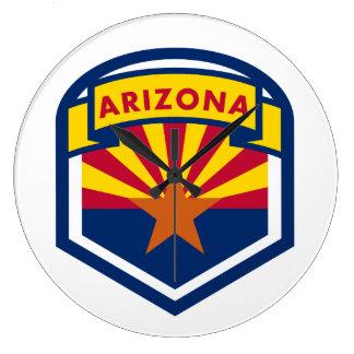 Relógio Grande Crista da bandeira do estado da arizona