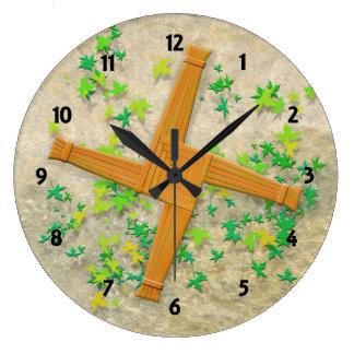 Relógio Grande Cruz de Brigid