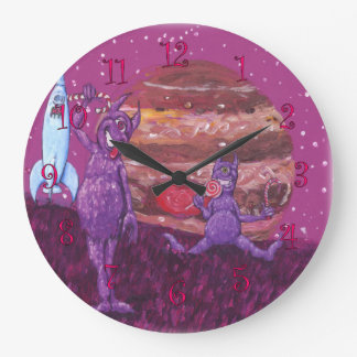 Relógio Grande Cyclops roxos em Jupiter