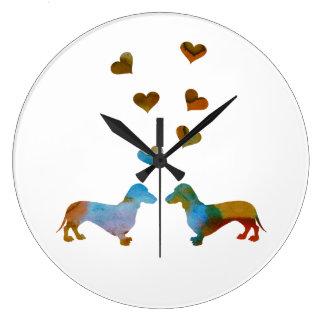 Relógio Grande Dachshunds