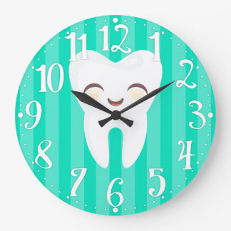 Relógio Grande Dente bonito - pulso de disparo de parede dental