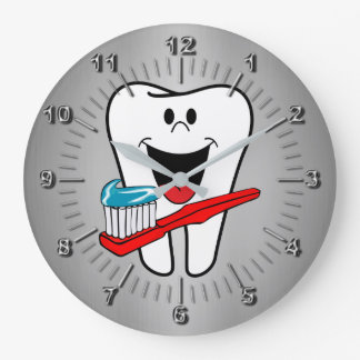 Relógio Grande Dente feliz