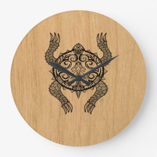 Relógio Grande Desenho da tartaruga