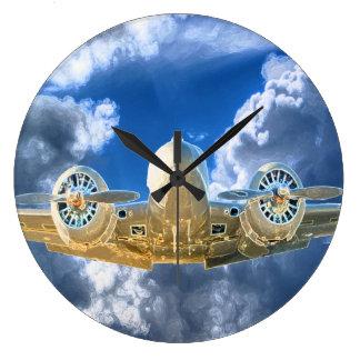 Relógio Grande Design alto de voo da faia 18