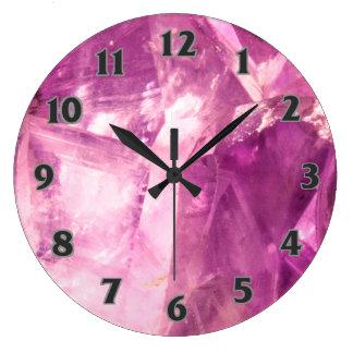 Relógio Grande Design Amethyst