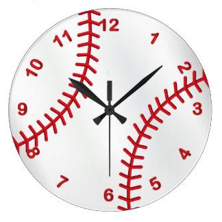 Relógio Grande Design do esporte do basebol