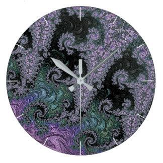 Relógio Grande Design roxo do pulso de disparo do andarilho