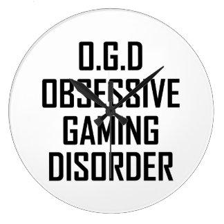 Relógio Grande Desordem obsessiva do jogo