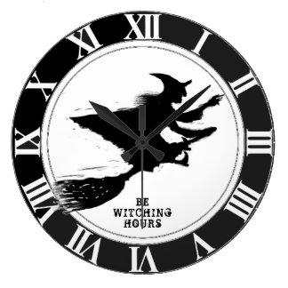 Relógio Grande Dia das Bruxas engraçado