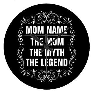 Relógio Grande Dia das mães feliz da mamã