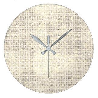 Relógio Grande Diamante mais foxier do Sequin do cetim do marfim