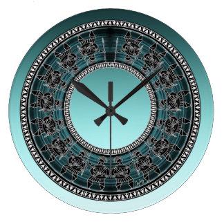 Relógio Grande Disco grego retro