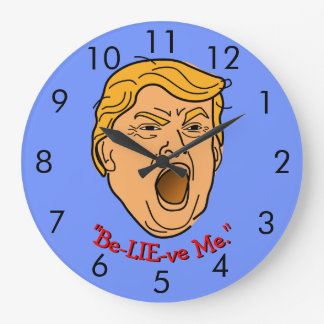 """Relógio Grande Donald Trump engraçado """"acredita-me"""" momento"""