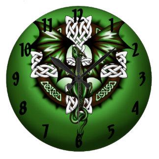 Relógio Grande Dragão celta