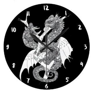 Relógio Grande Dragão do camaleão