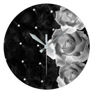 Relógio Grande Dúzia rosas