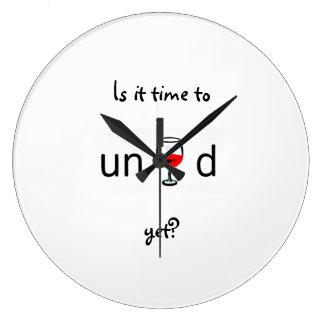 Relógio Grande É hora de desenrolar ainda?
