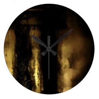 Relógio Grande E na extremidade, não havia nada