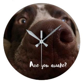 Relógio Grande É você acorda o pulso de disparo de parede