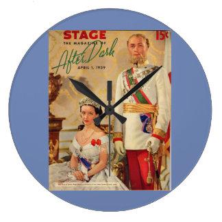 Relógio Grande Em abril de 1939 capa de revista do palco