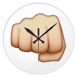 Relógio Grande Emoj mim punho
