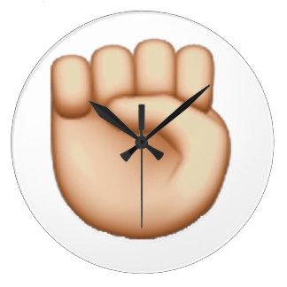 Relógio Grande Emoji - punho aumentado