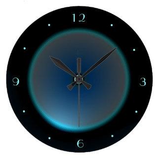 Relógio Grande Enegreça com o pulso de disparo iluminado do >Wall
