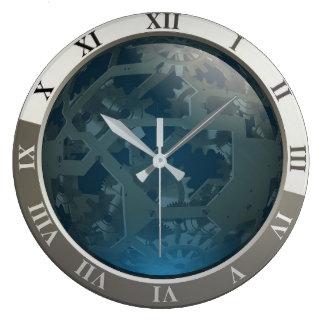 Relógio Grande Engrenagens industriais personalizadas