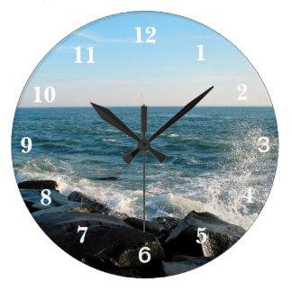 Relógio Grande Entrada da cidade do oceano