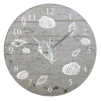 Relógio Grande Escudos modernos do mar do oceano da madeira