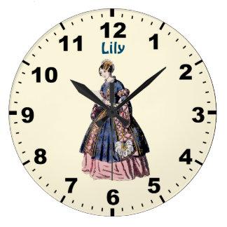 Relógio Grande ~ ESPANHOL do TRAJE do ~ personalizado para o ~ do