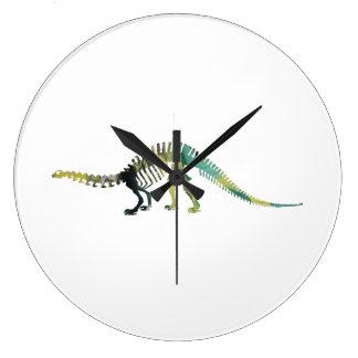 Relógio Grande Esqueleto do dinossauro
