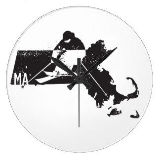 Relógio Grande Esqui Massachusetts