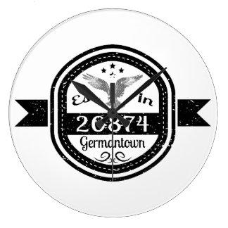Relógio Grande Estabelecido em 20874 Germantown
