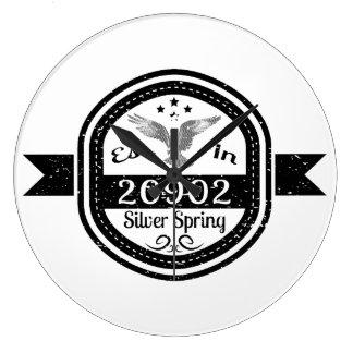 Relógio Grande Estabelecido em 20902 Silver Spring