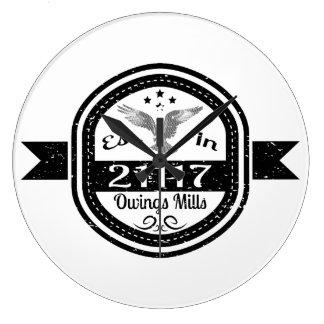Relógio Grande Estabelecido em 21117 Owings Mills