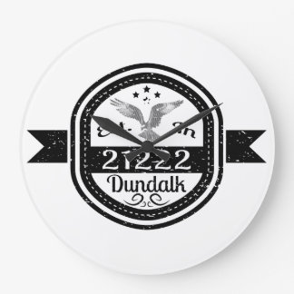 Relógio Grande Estabelecido em 21222 Dundalk