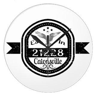 Relógio Grande Estabelecido em 21228 Catonsville