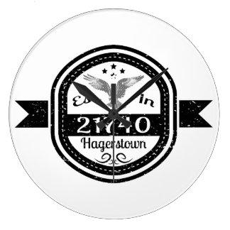 Relógio Grande Estabelecido em 21740 Hagerstown